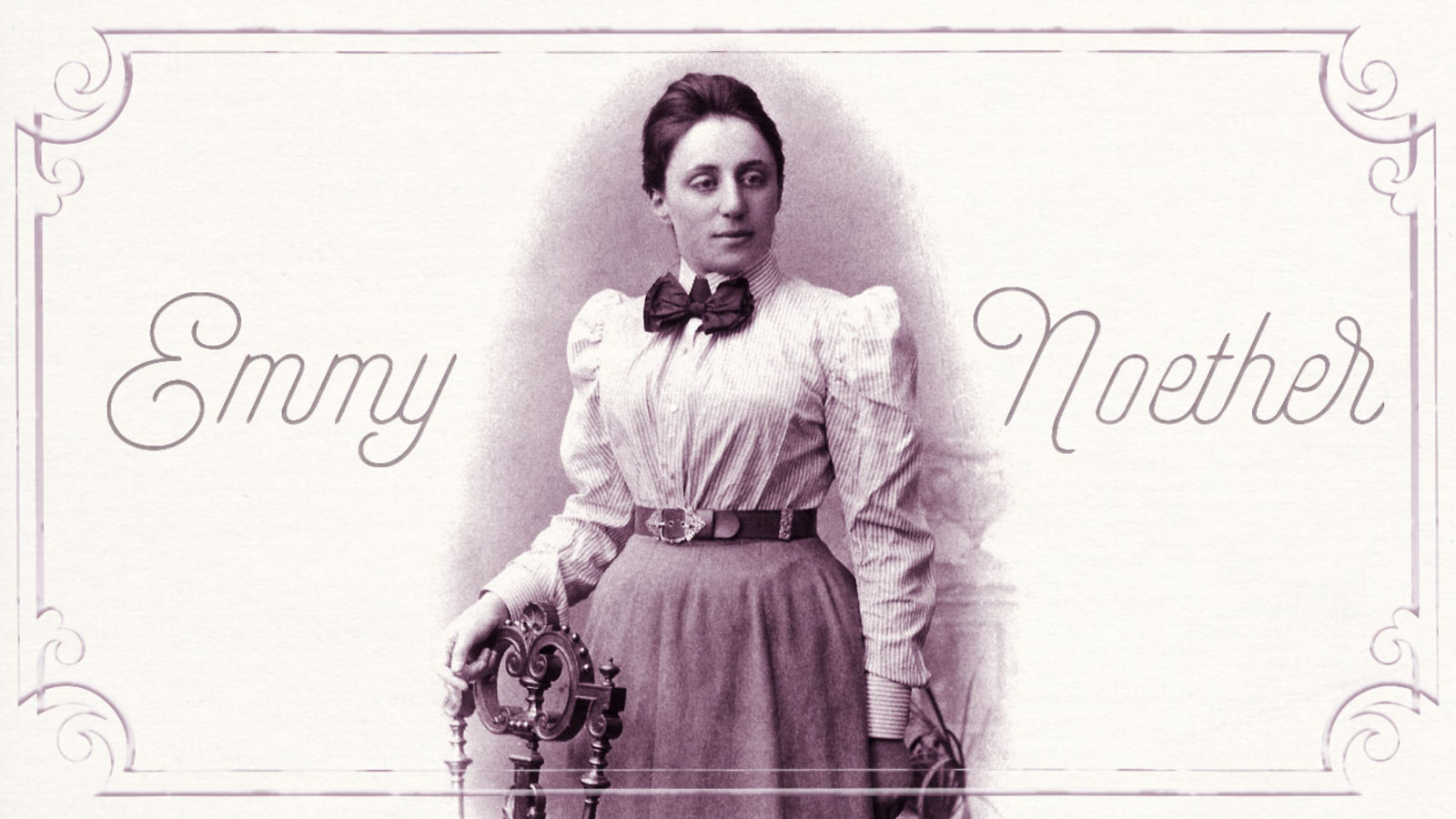 Mathematician to know: Emmy Noether | symmetry magazine Emmy Noether