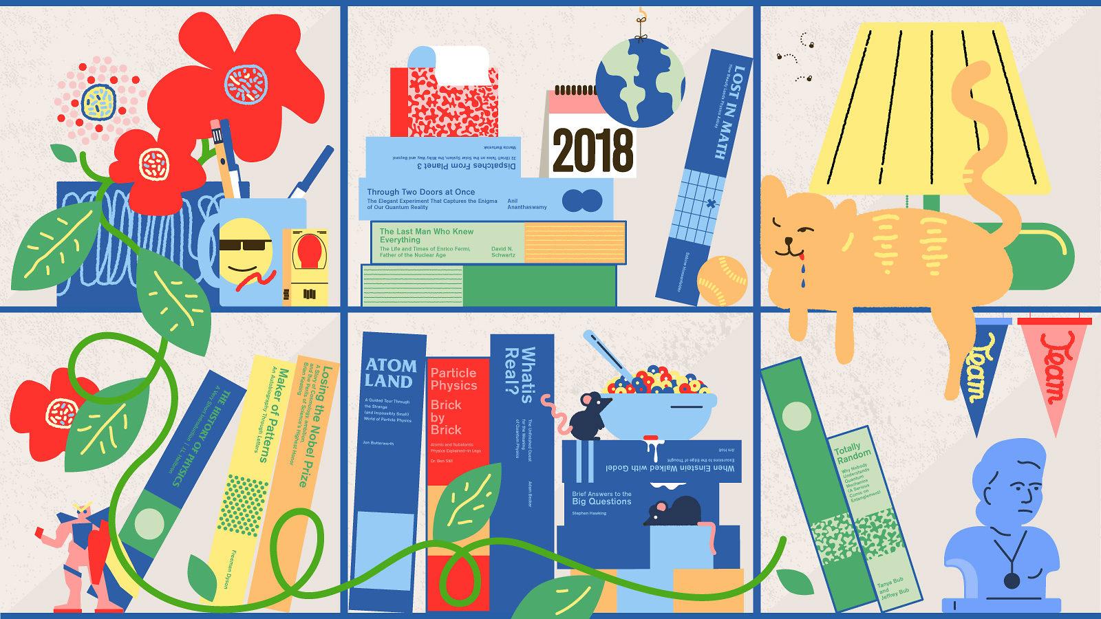 Physics books of 2018
