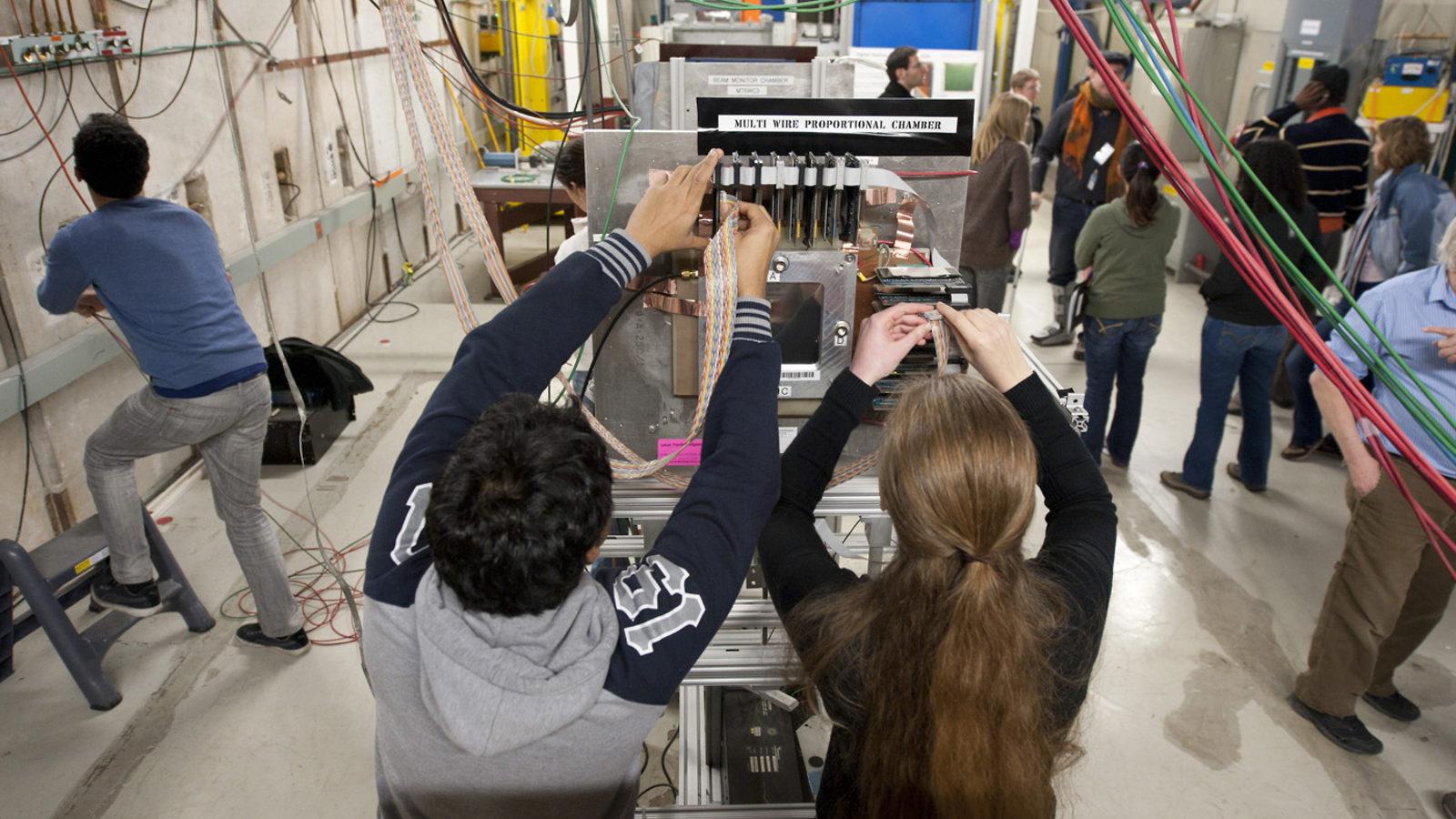 Photo of Fermilab Test Beam