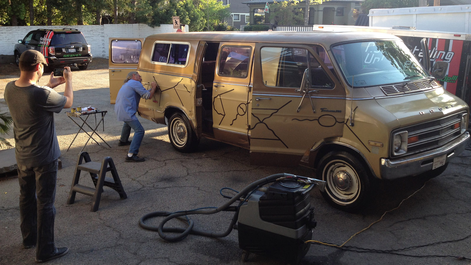 Photo of Feynman van restoration