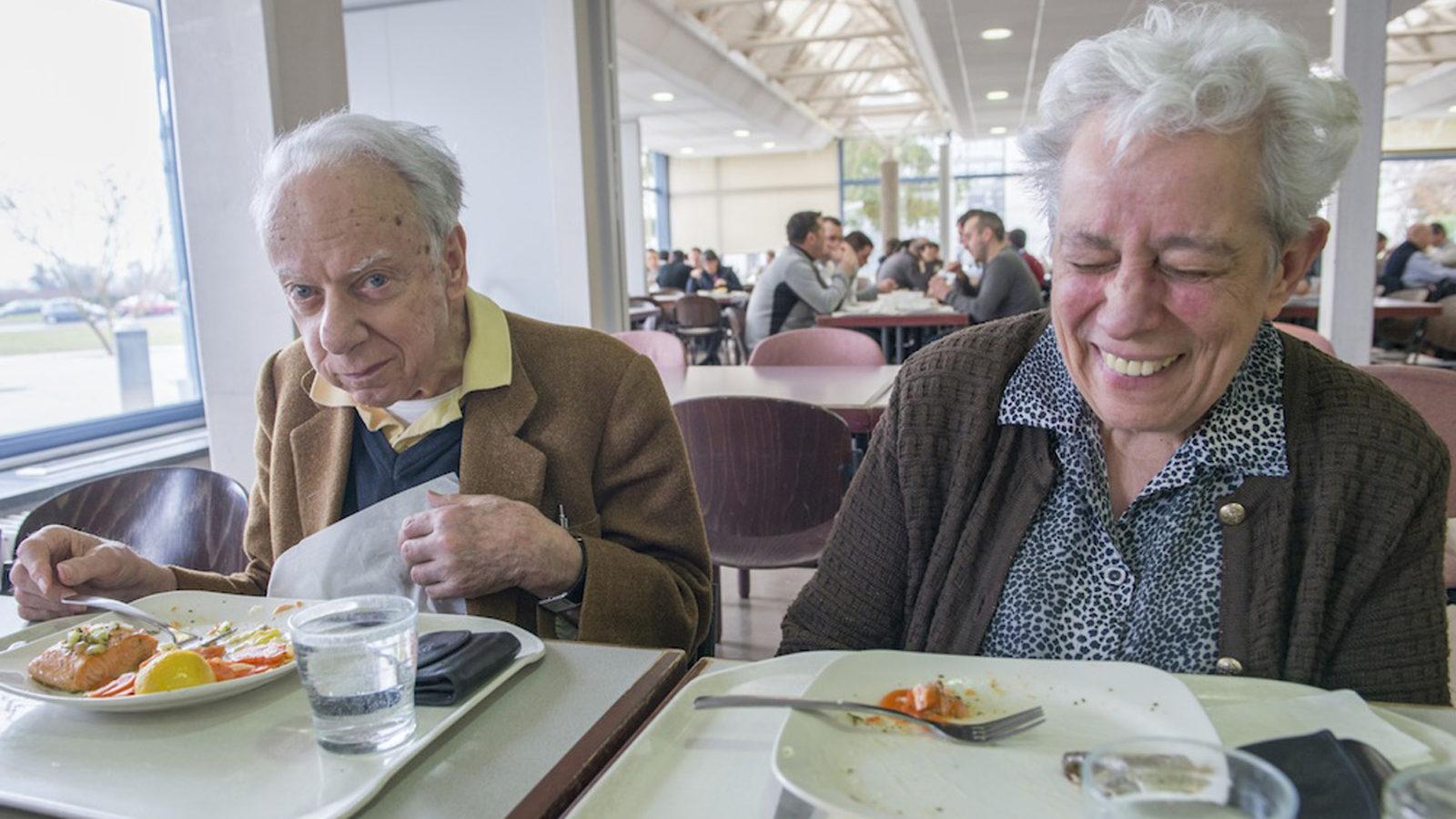 Photo: Giuseppe and Maria Fidecaro