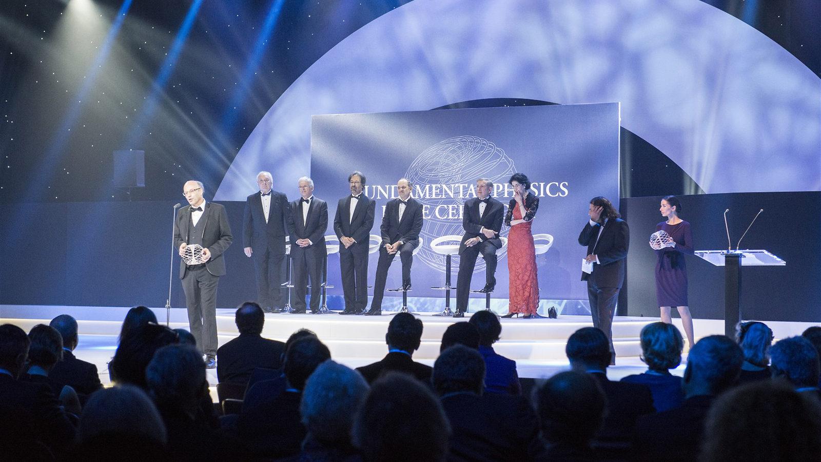 Photo of Fundamental Physics Prize ceremony