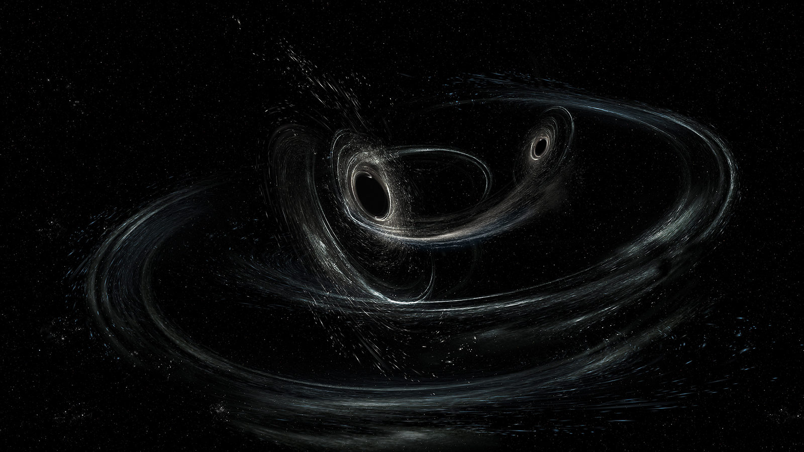 black holes in space 3d - photo #14