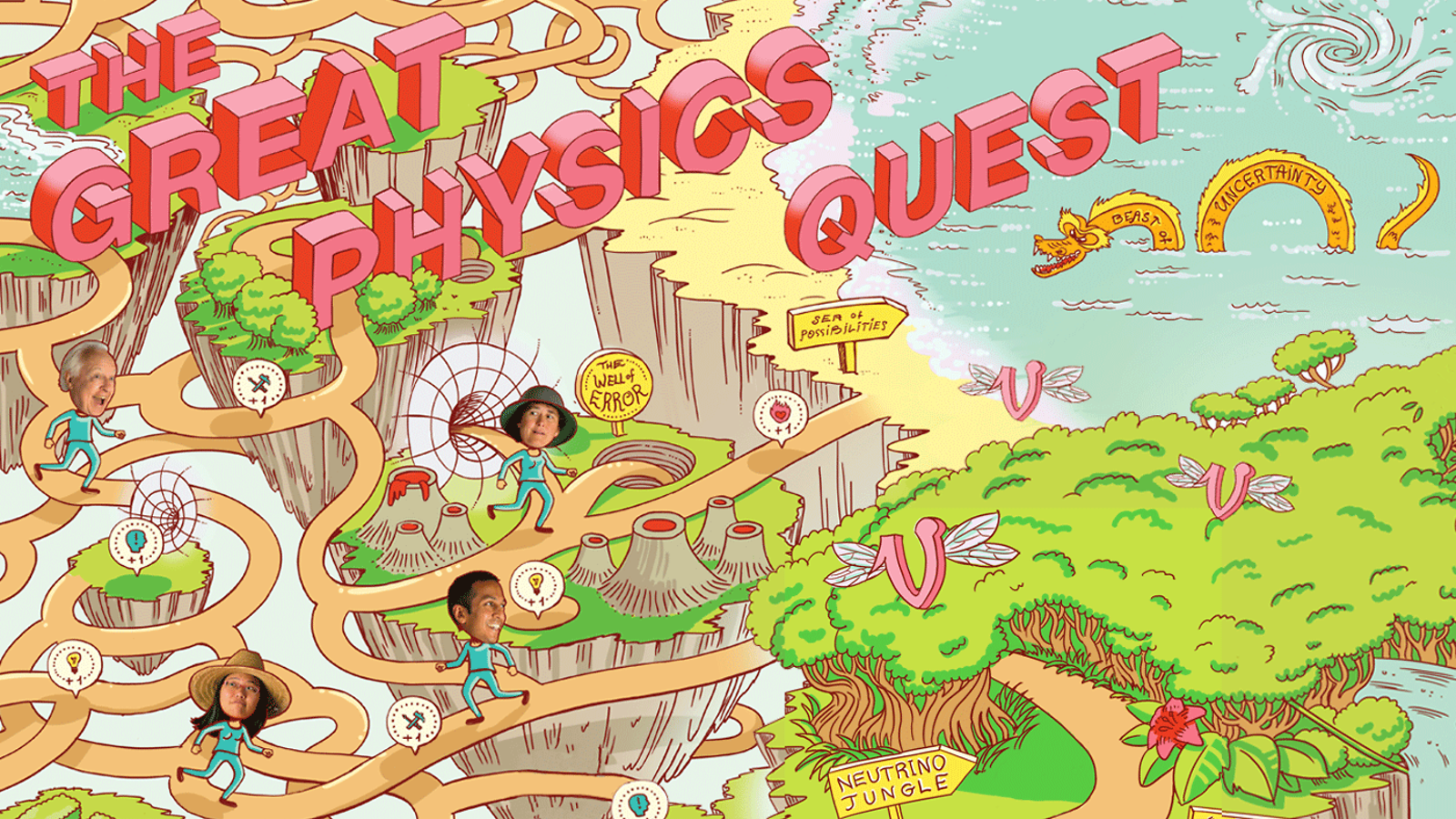 Physicists on Great Physics Quest