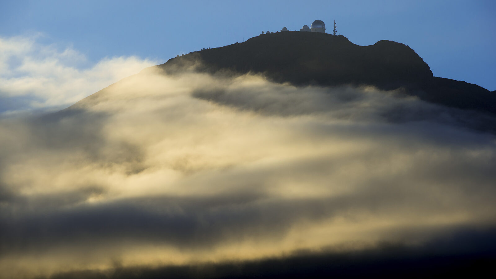 Cerro Tololo Inter-American Observatory above the clouds