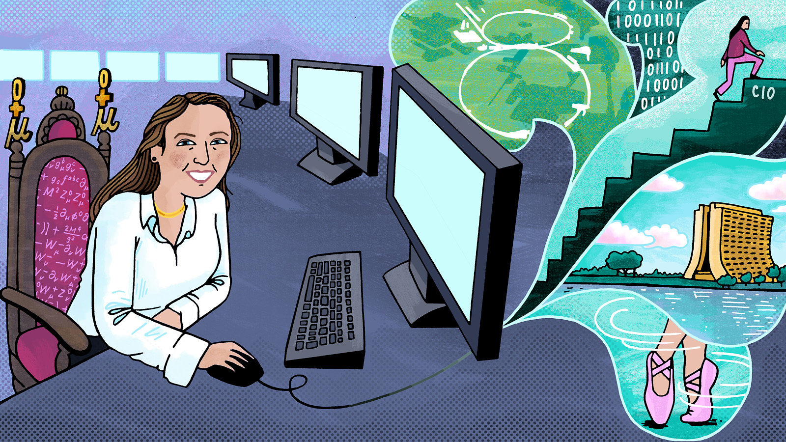 An illustration of Liz Sexton-Kennedy