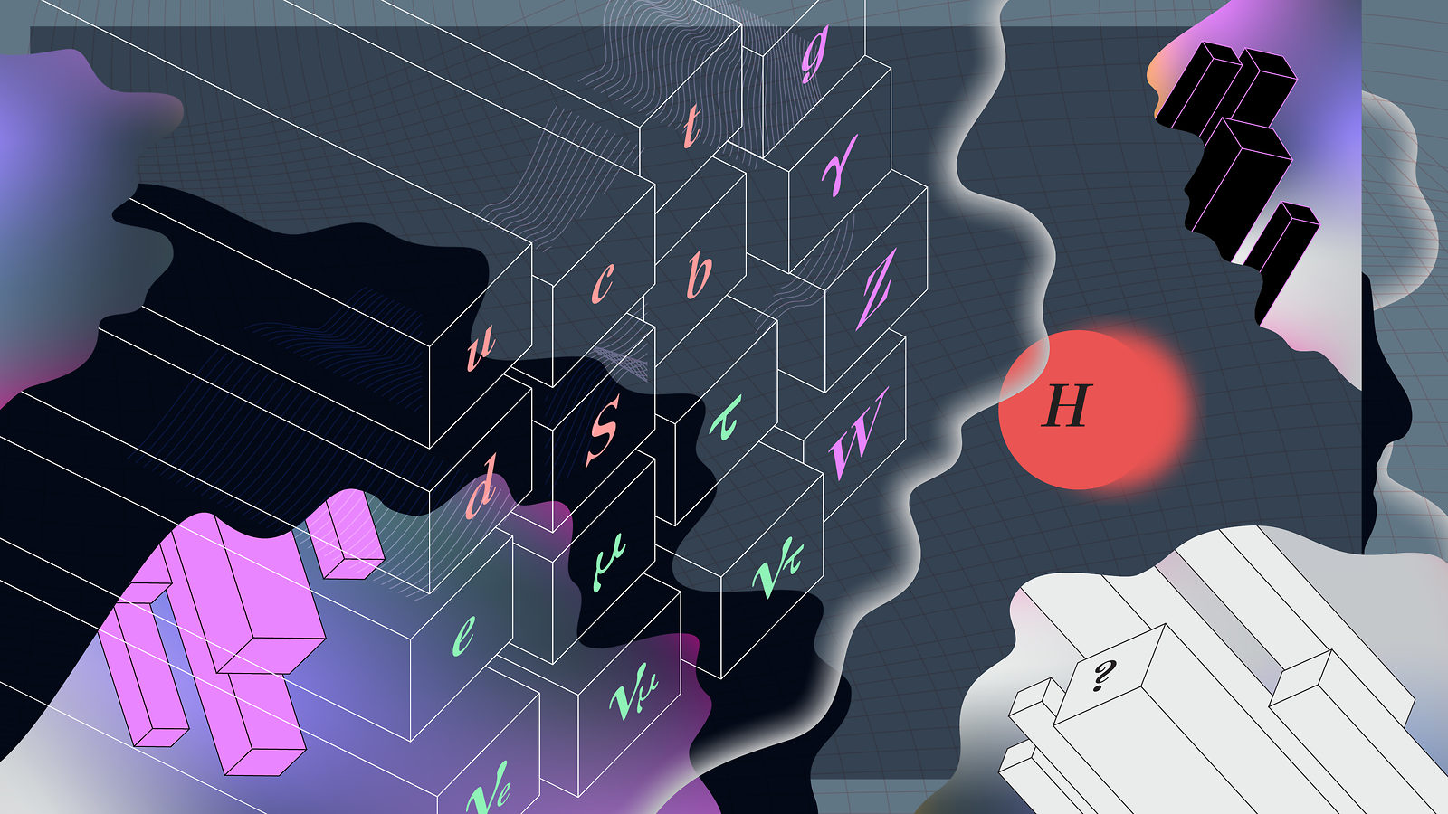 Five mysteries the Standard Model can't explain