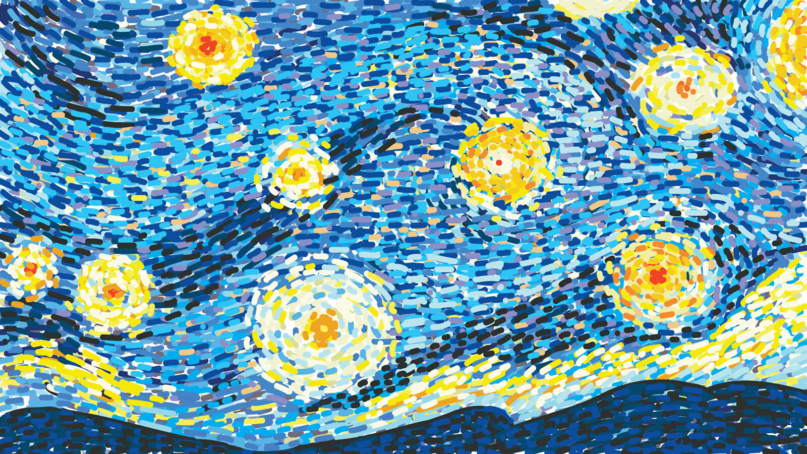 Image: HeavenlyNeutrinos_Starry Night
