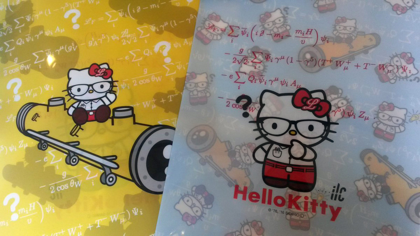 Helly Kitty folders