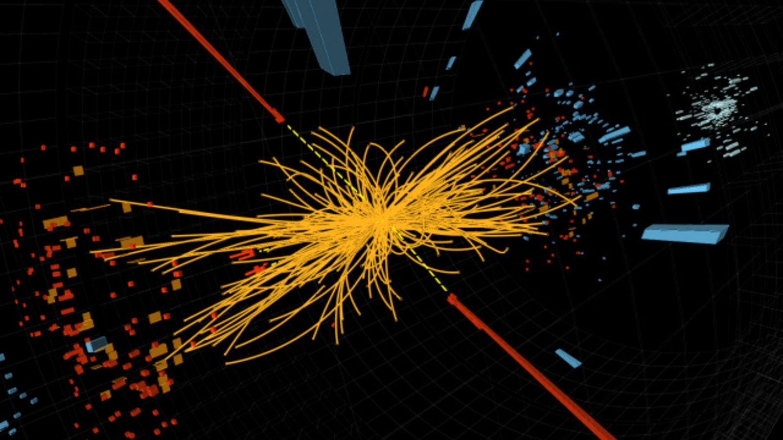 Image: CMS Higgs collision