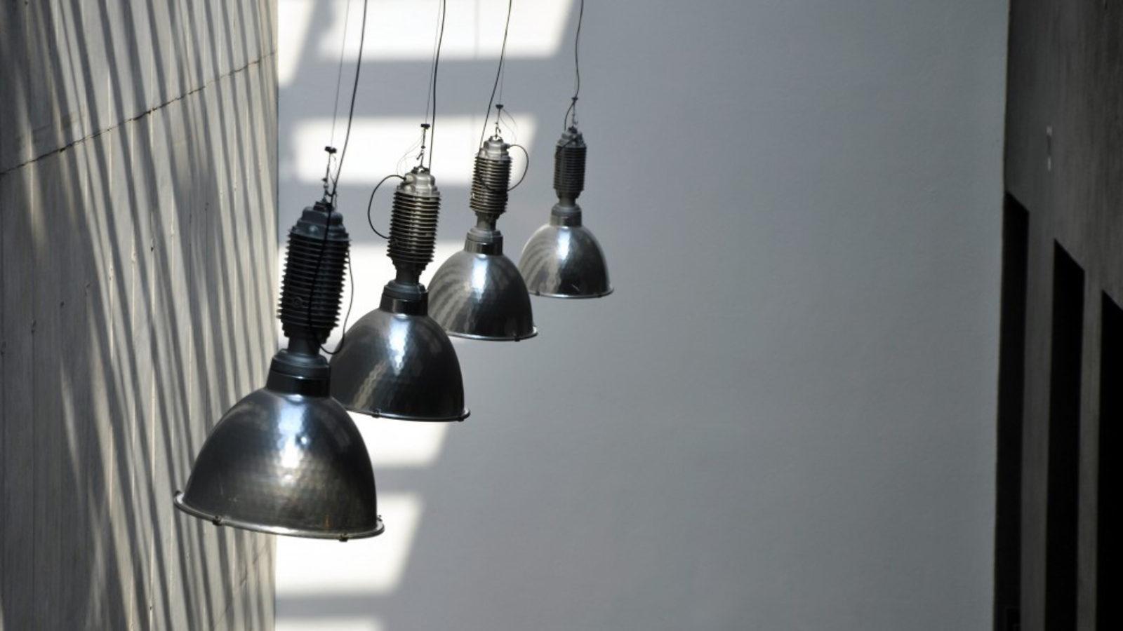 Photo: Julius von Bismarck lamps