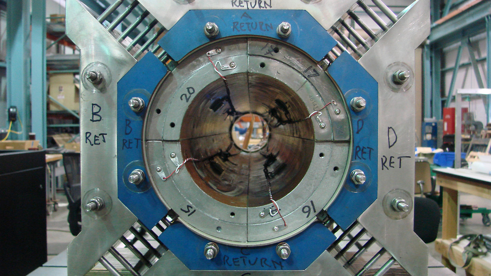 Photo: LARP magnet