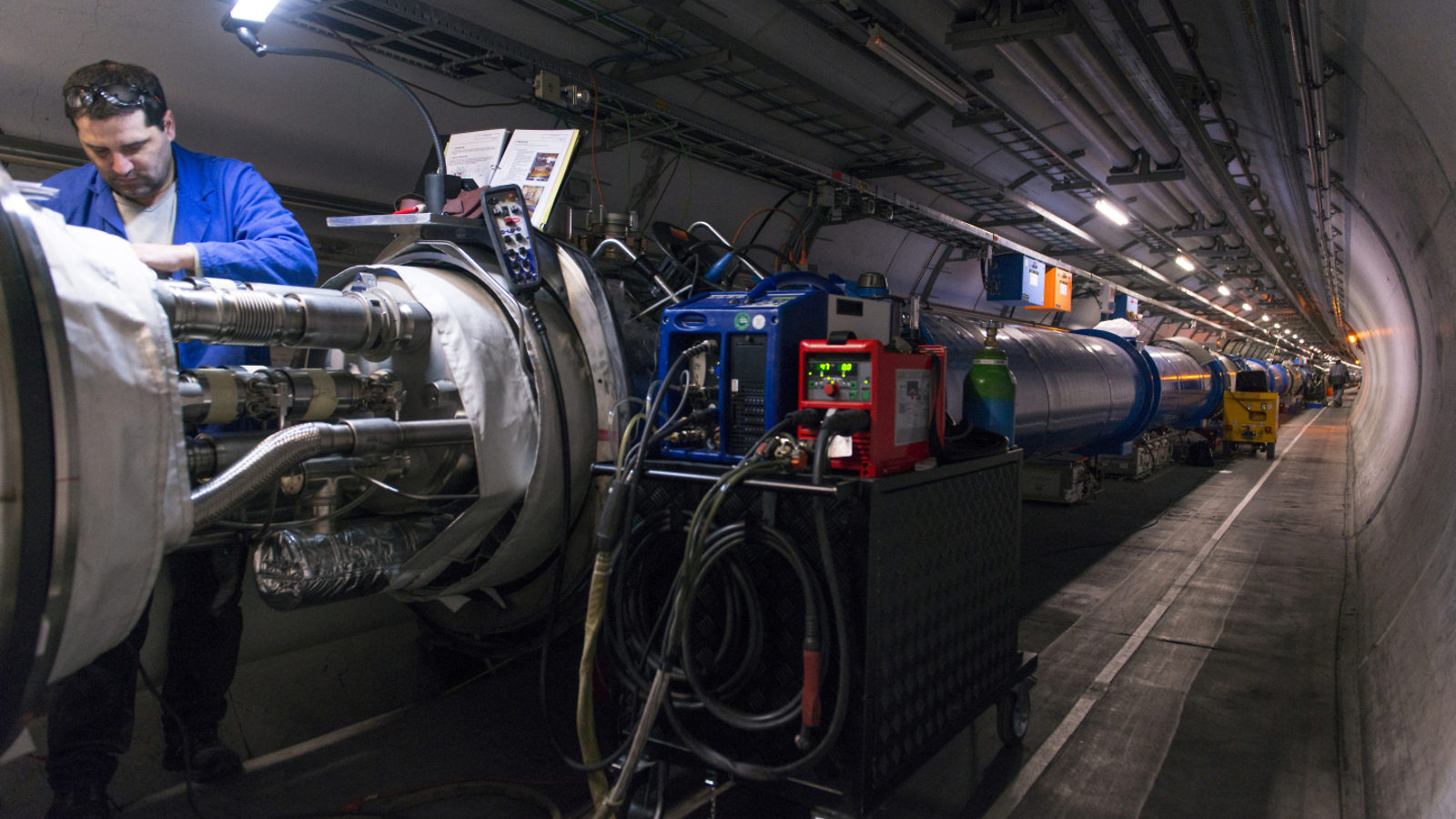 Photo: LHC shutdown 1