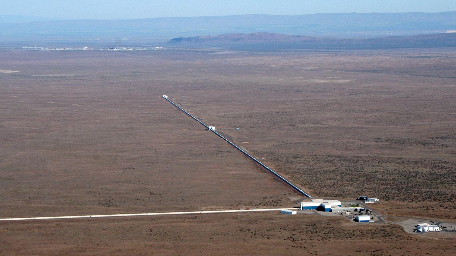 Photo of LIGO aerial