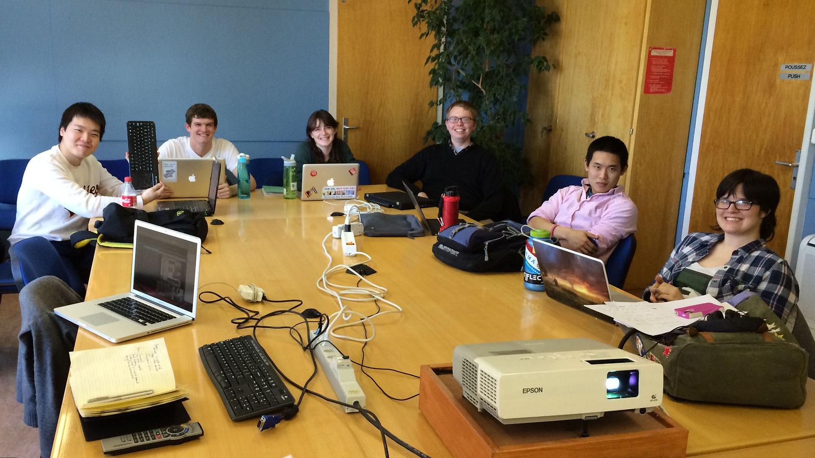 Photo of UM-CERN Research Abroad Program