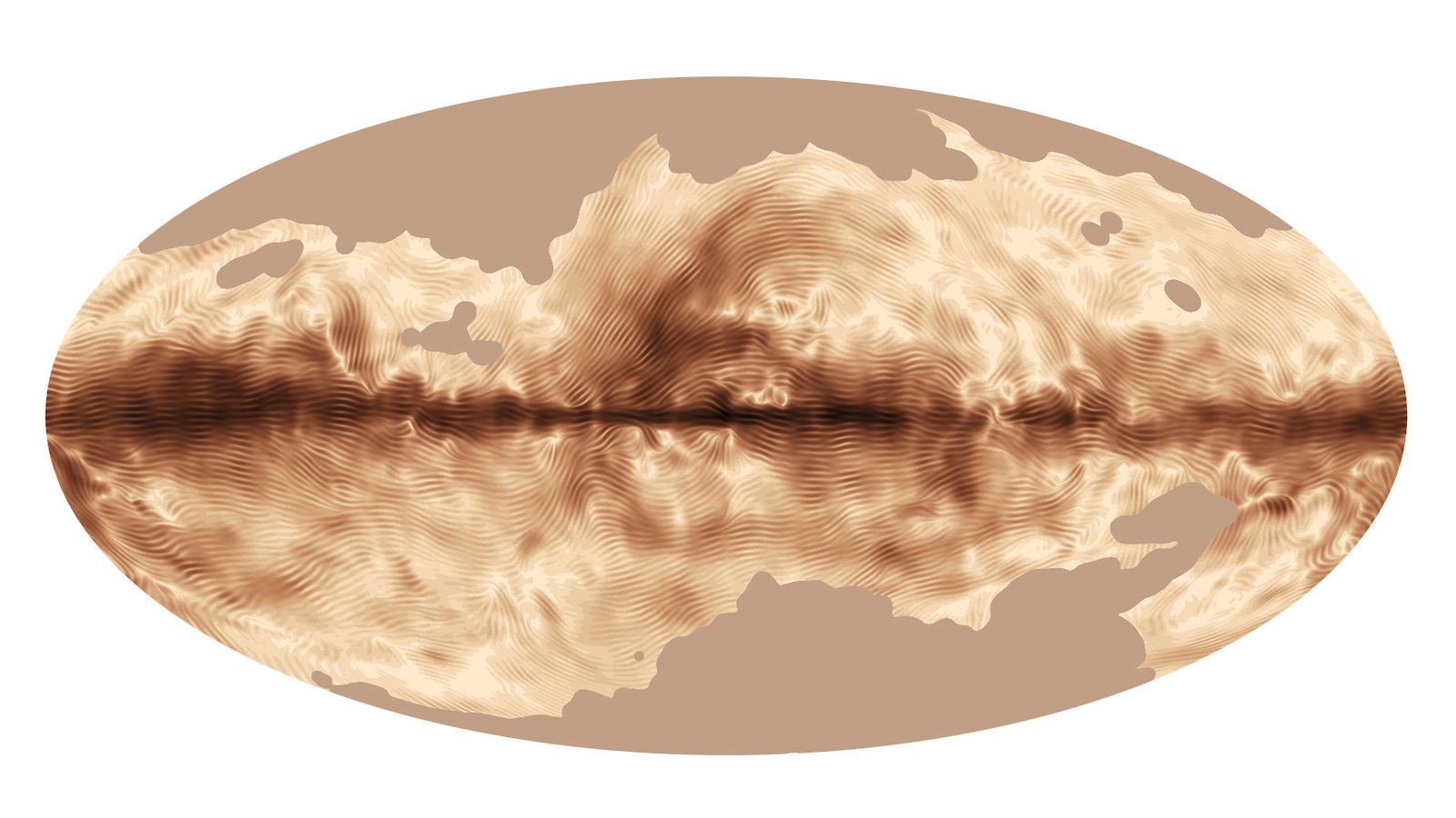 Image: Milky Way fingerprint