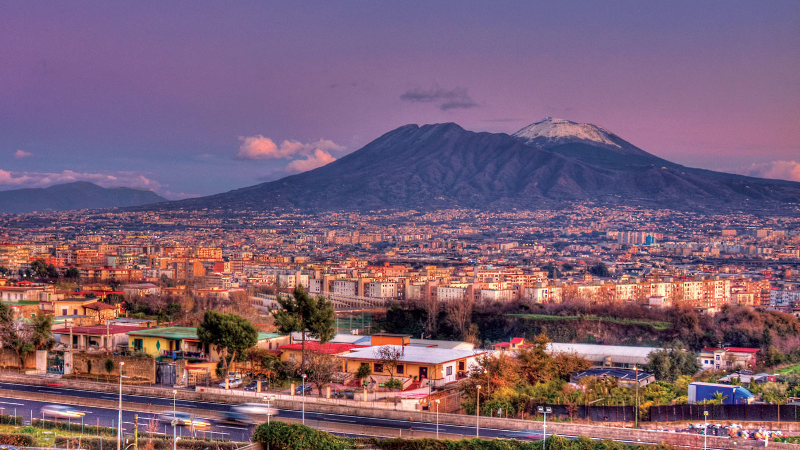 Image of Mount Vesuvius