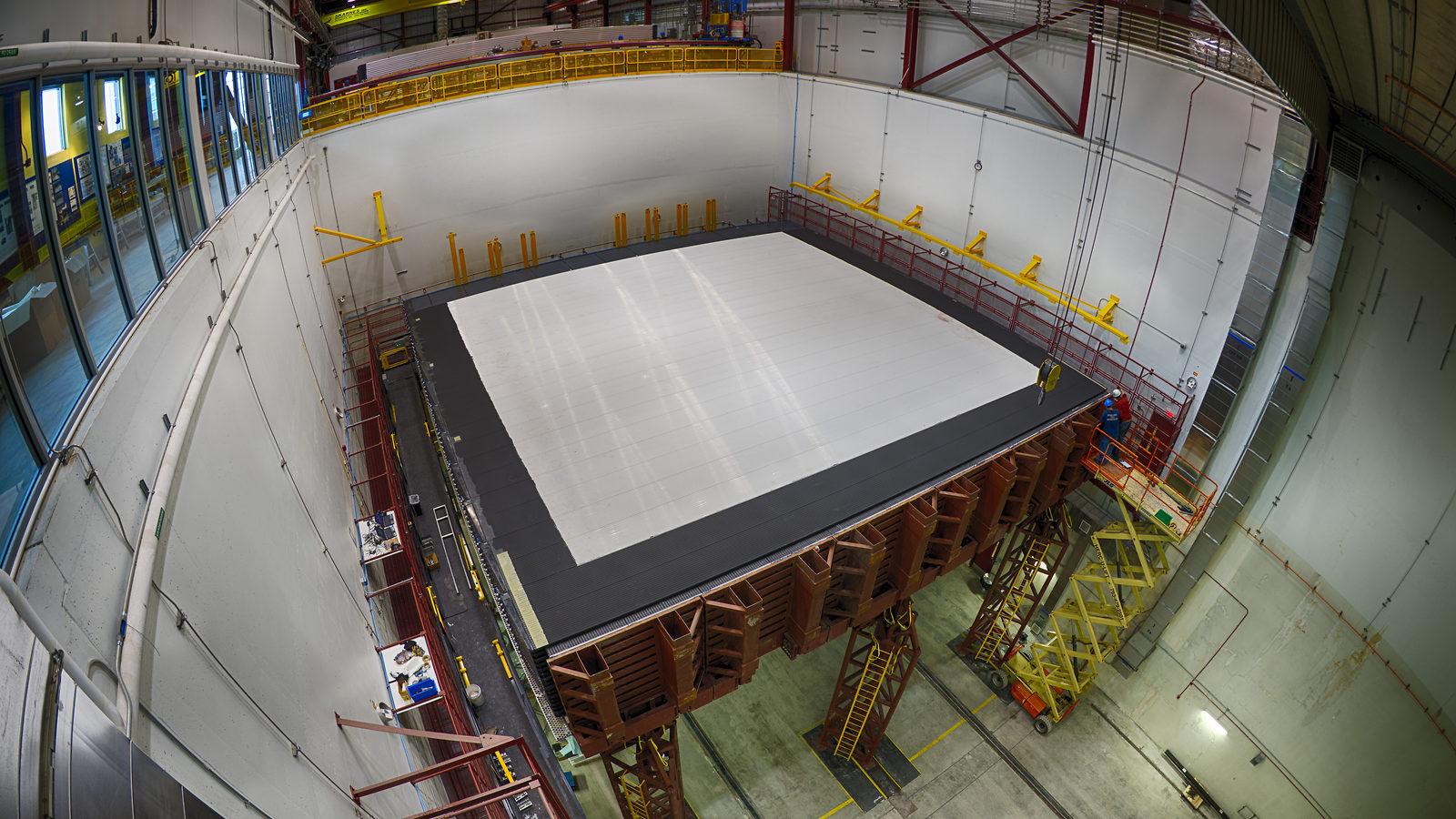 Photo: NOvA detector construction