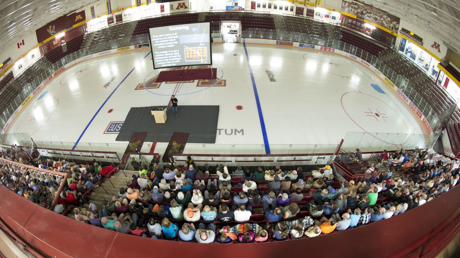 Photo: Physics Slam on ice