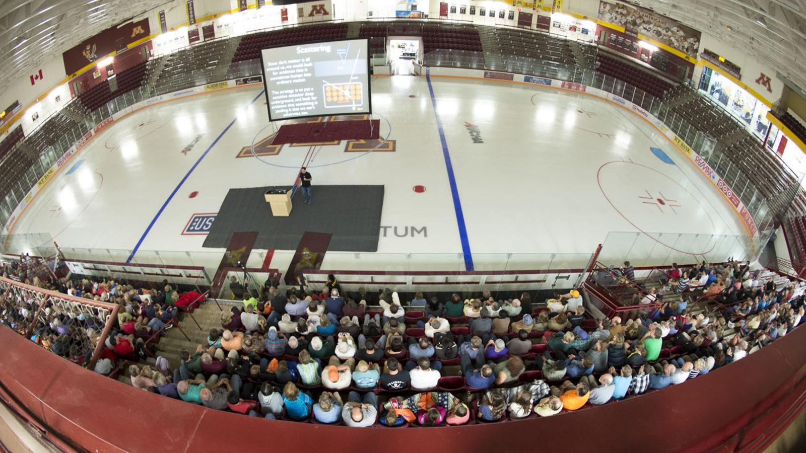 Photo of Physics Slam on ice