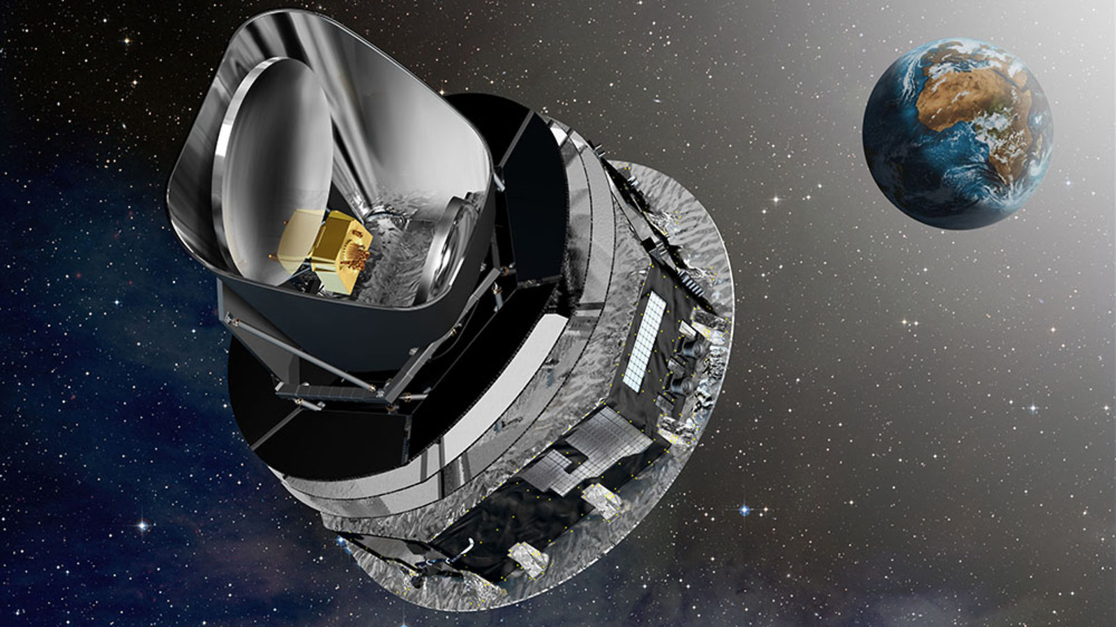 Image: Planck cruising to L2