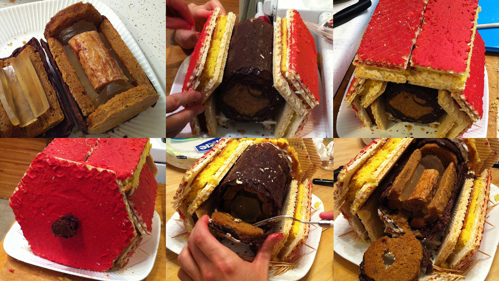 Photo collage of CMS Cake Header