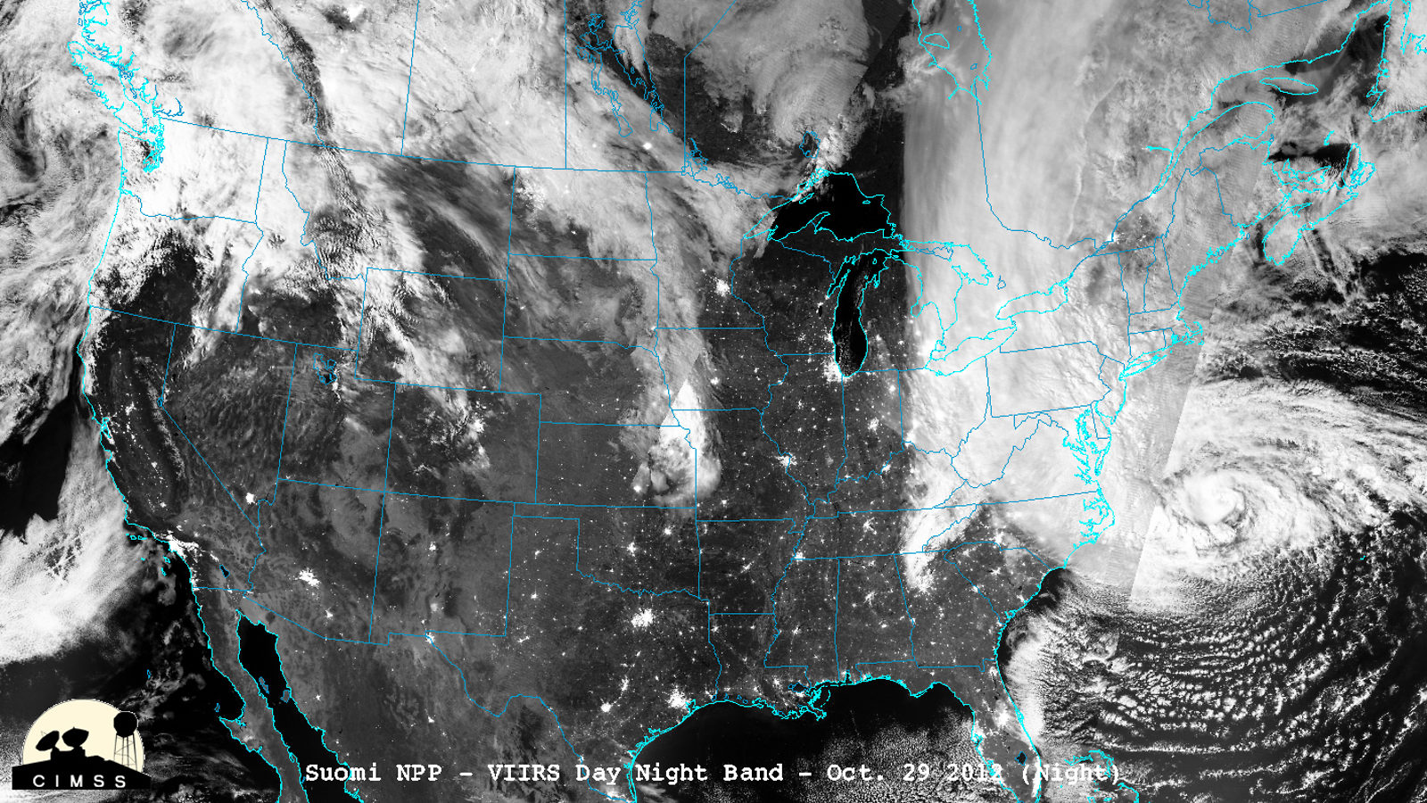 Image: Hurricane Sandy