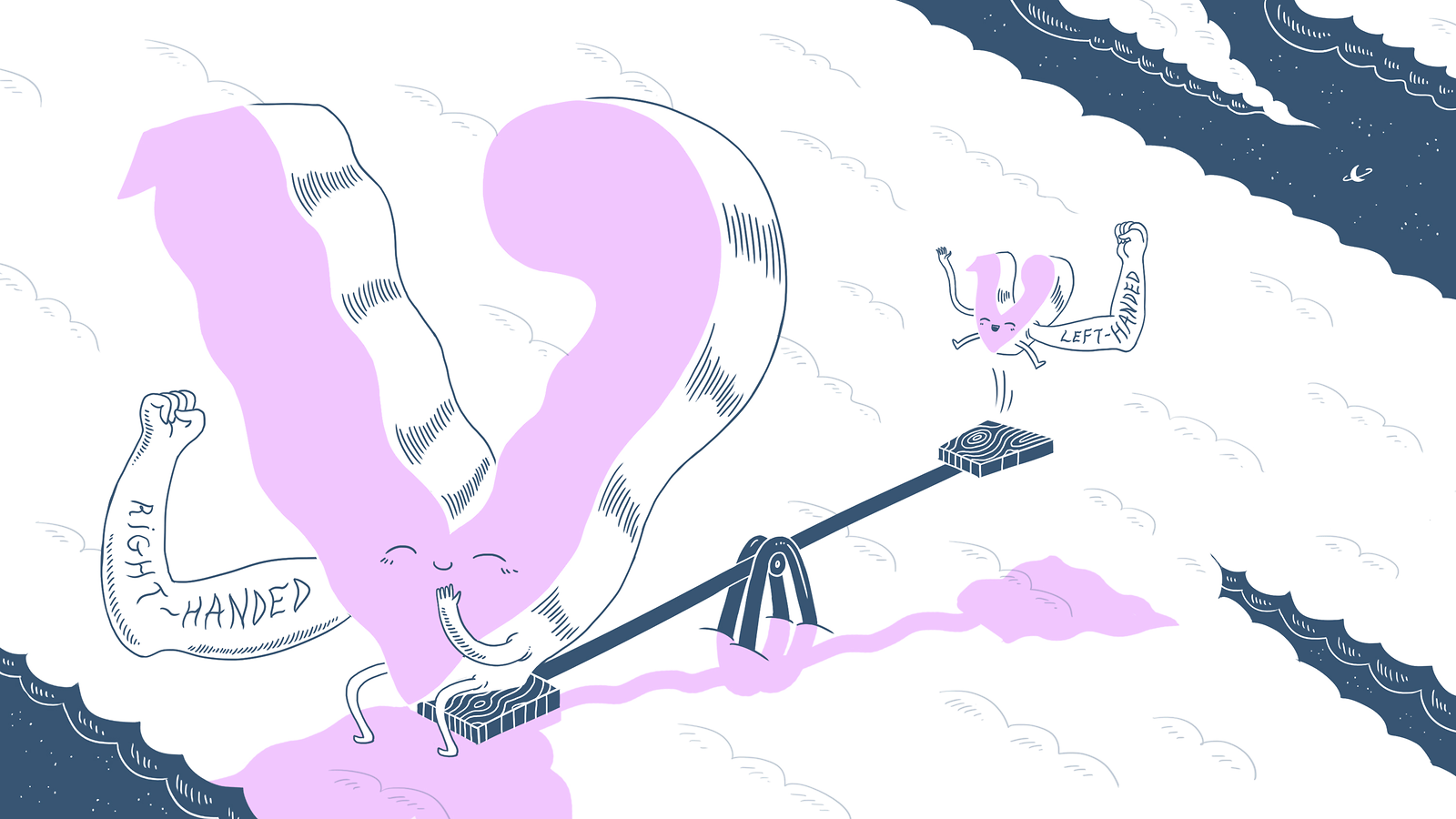 Neutrinos on a seesaw