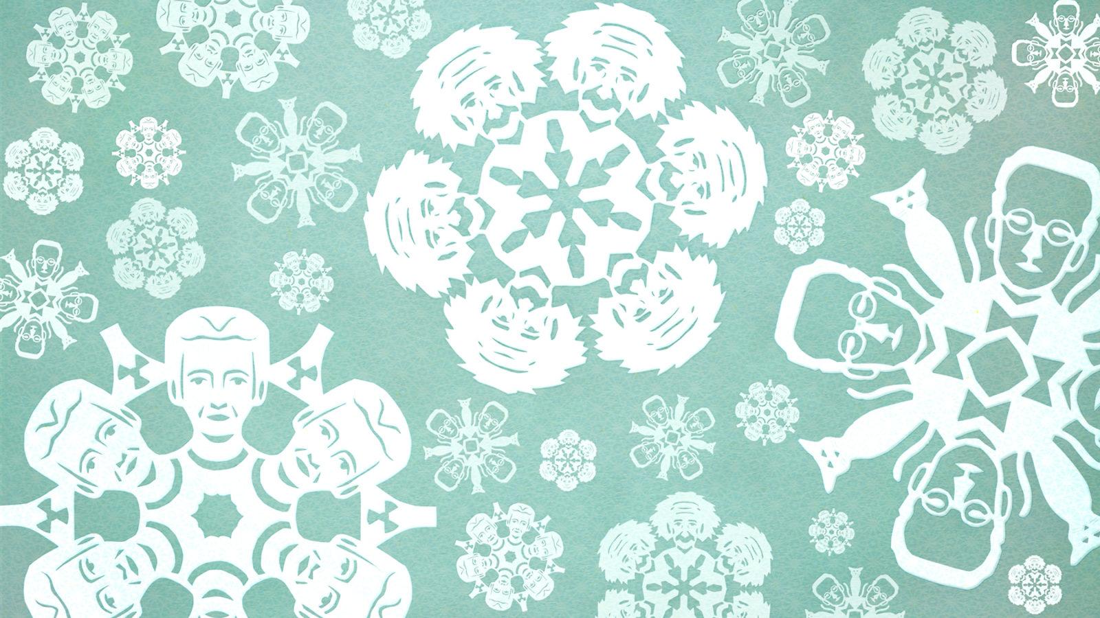 Snowflake Header