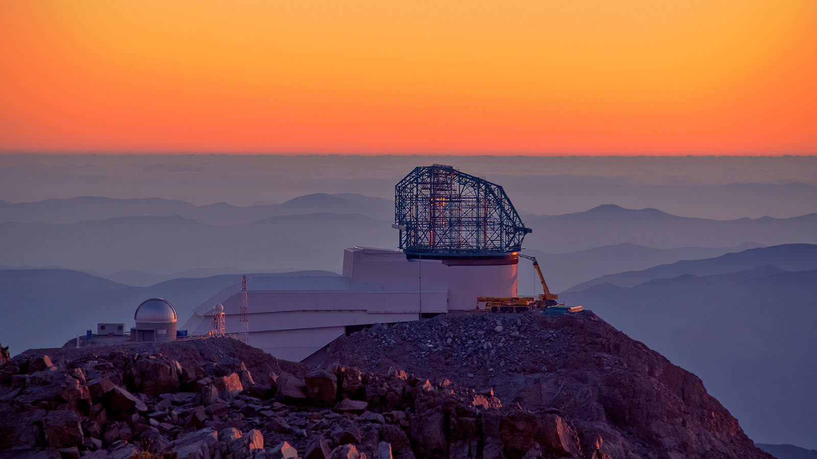 LSST at sunset