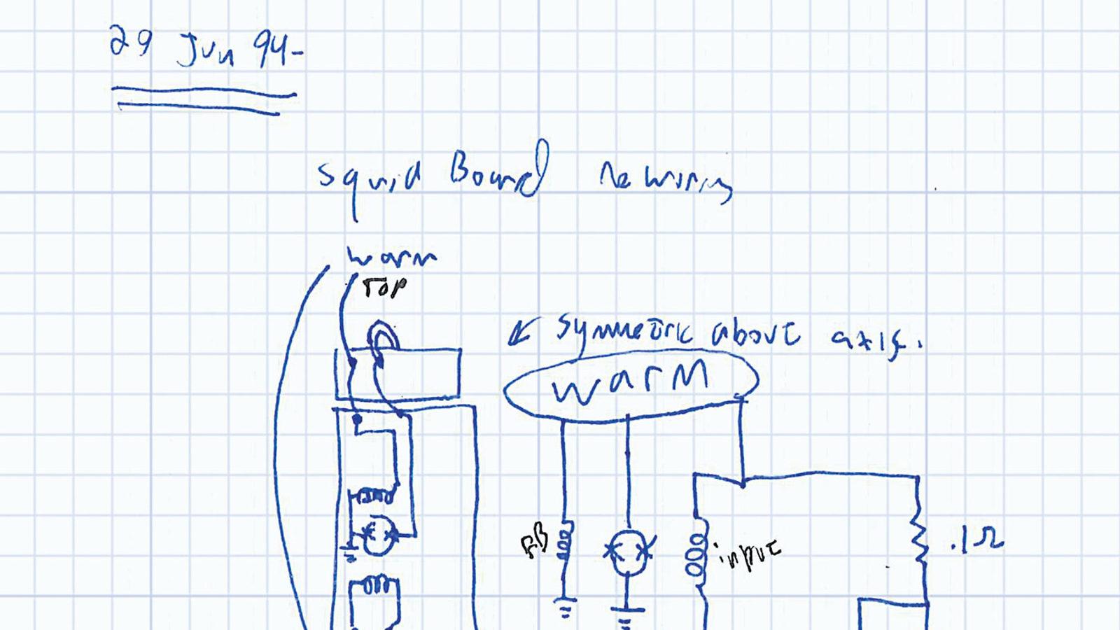 Sketch of TES