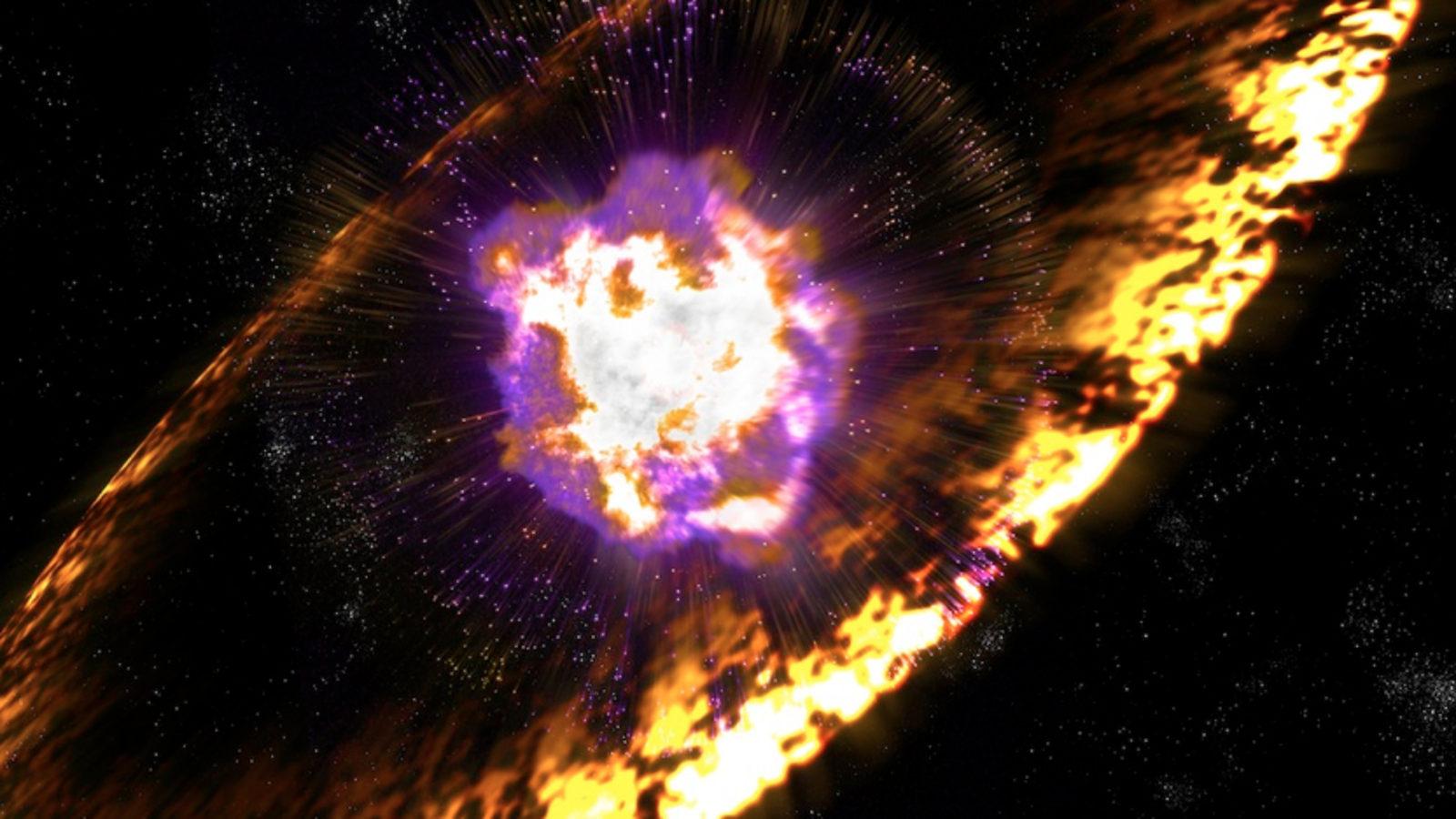 Image: Supernova shockwave