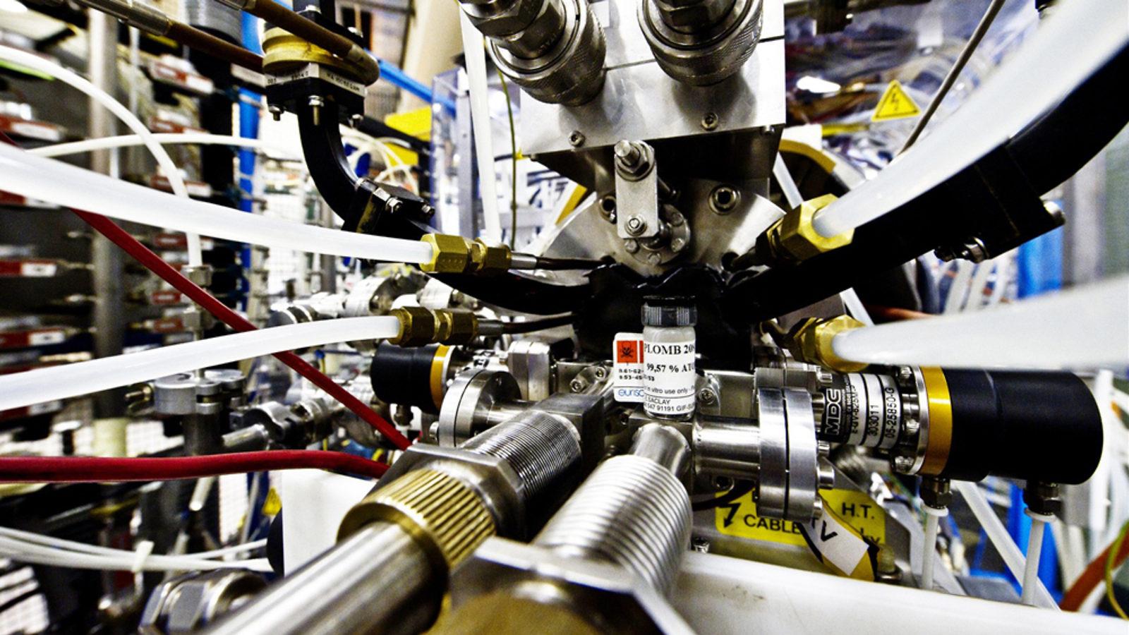Photo of Linac 3 at CERN