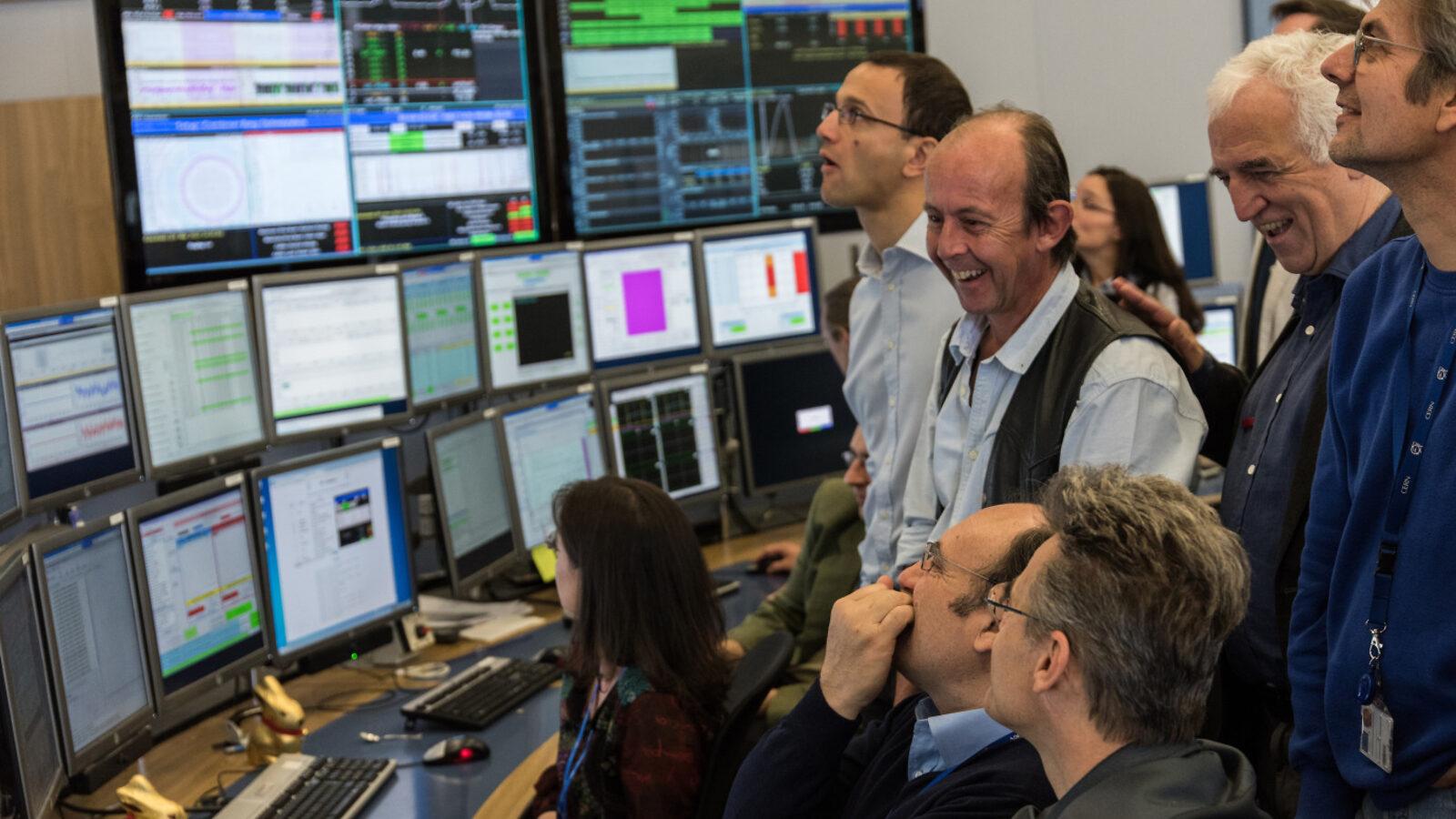 Photo of LHC restart