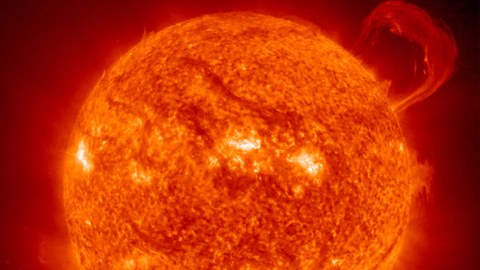 Photo of the sun