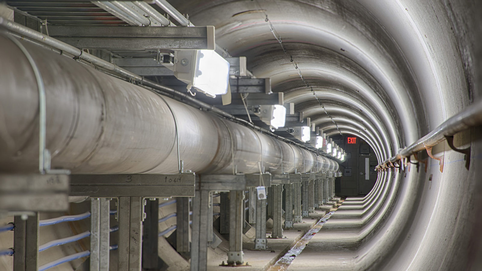 Photo of Fermilab beamline