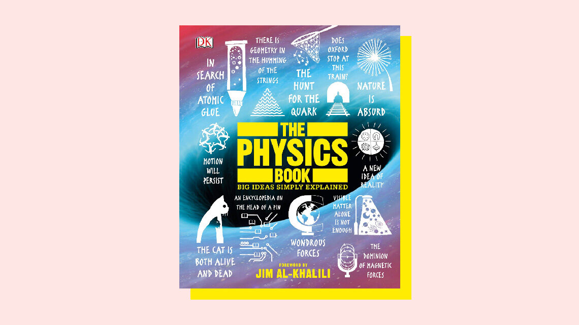 "Book Cover: ""The Physics Book"""