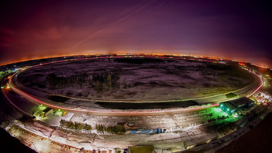 Photo of The Tevatron
