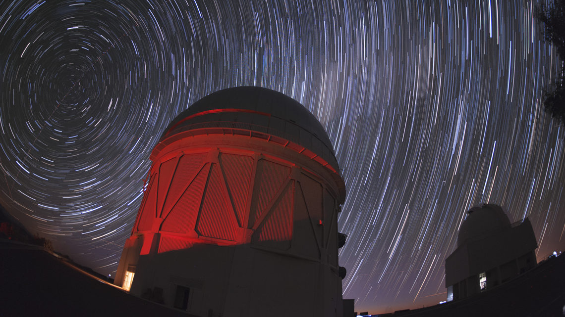 Photograph of Cerro Tololo Observatory