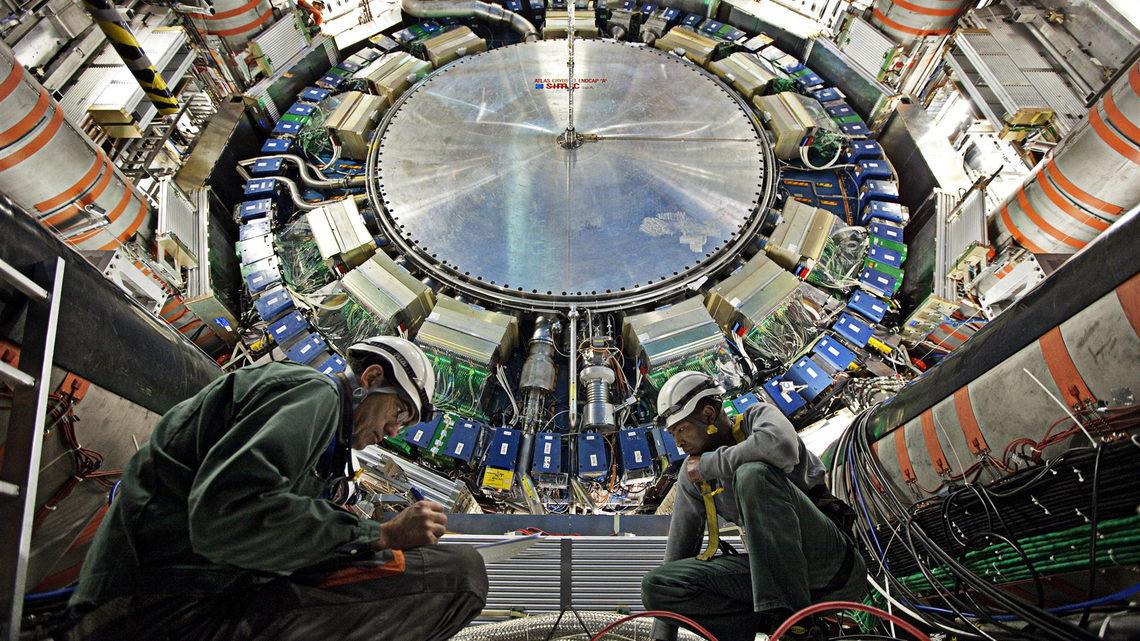 Photo of ATLAS detector