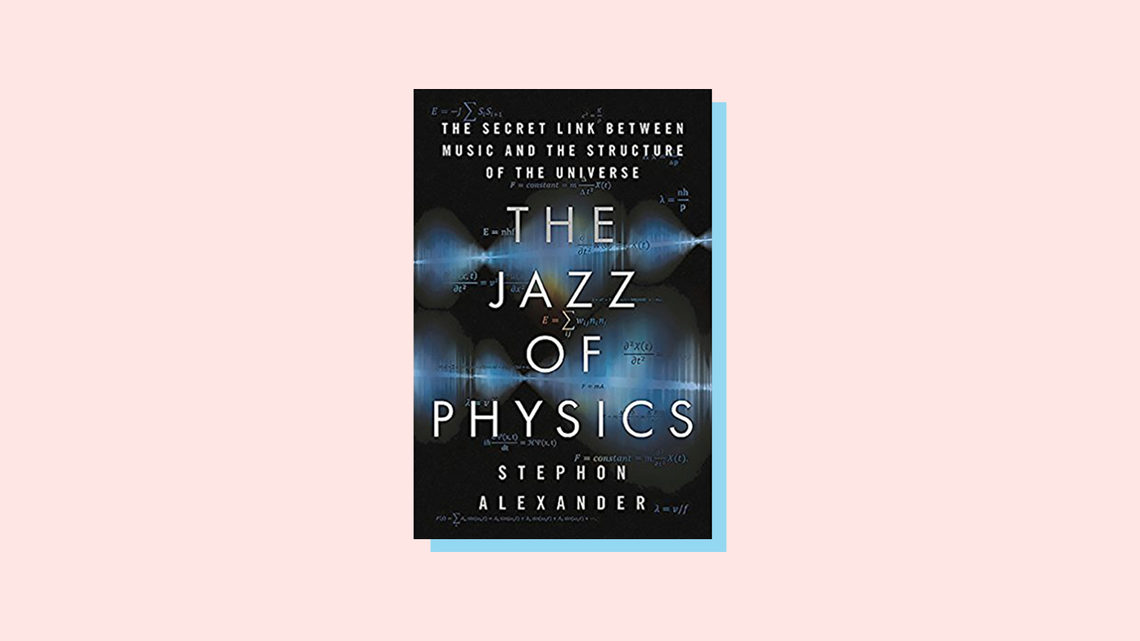Illustration of book cover for The Jazz of Physics The Secret Link Between Music and the Structure of the Universe