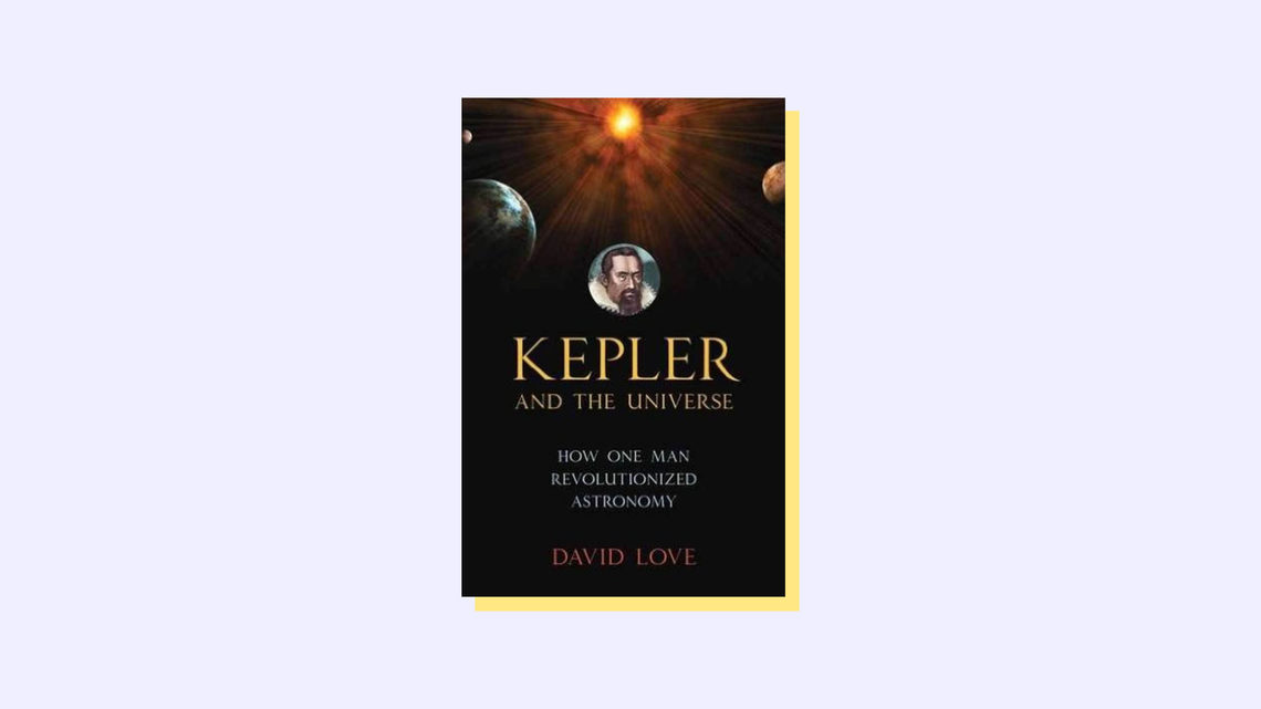 Kepler and the Universe Book