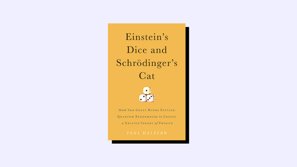 Einstein's Dice and Schrodinger's Cat Book