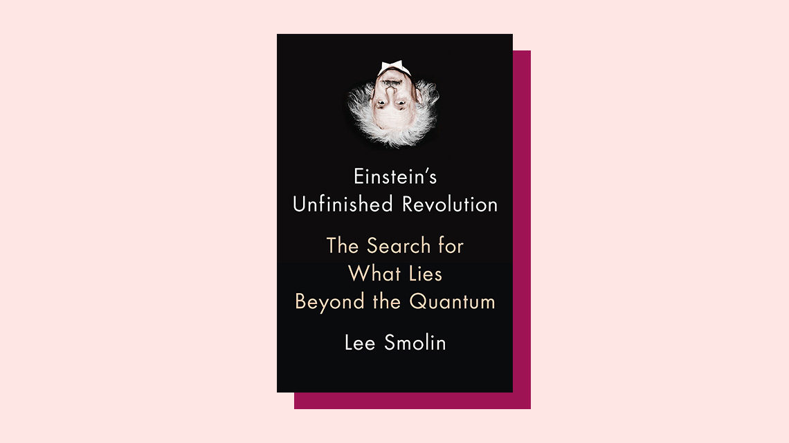 """Einstein's Unfinished Revolution"" book cover by Lee Smolin"