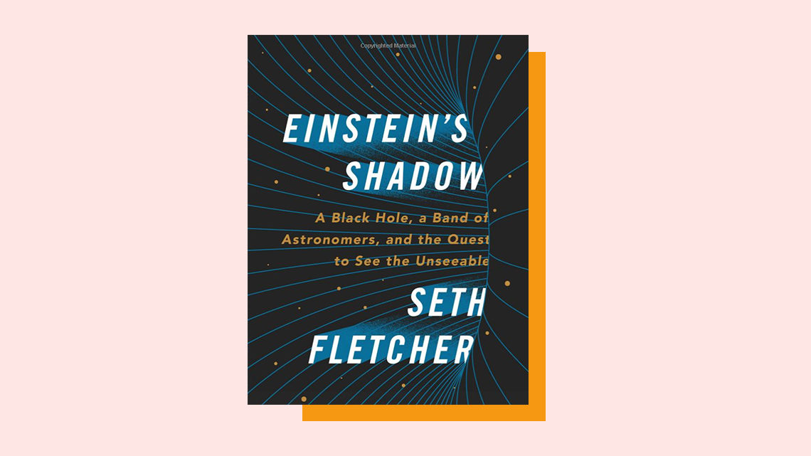 """Einstein's Shadow"" book cover by Seth Fletcher"