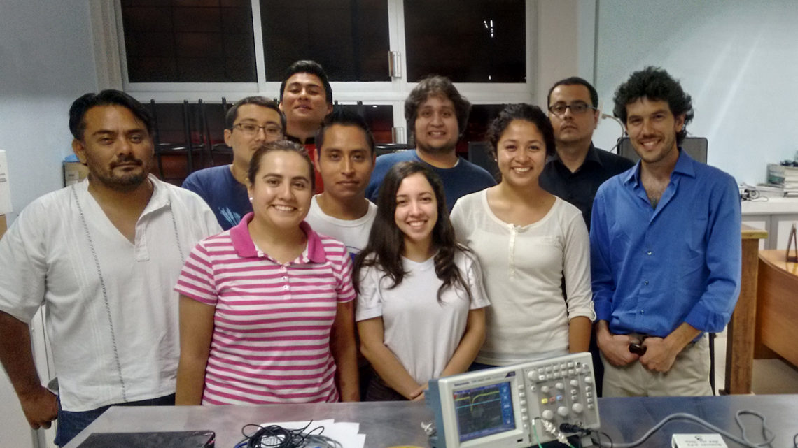 Students from the Universidad Autónoma de Chiapas in Mexico