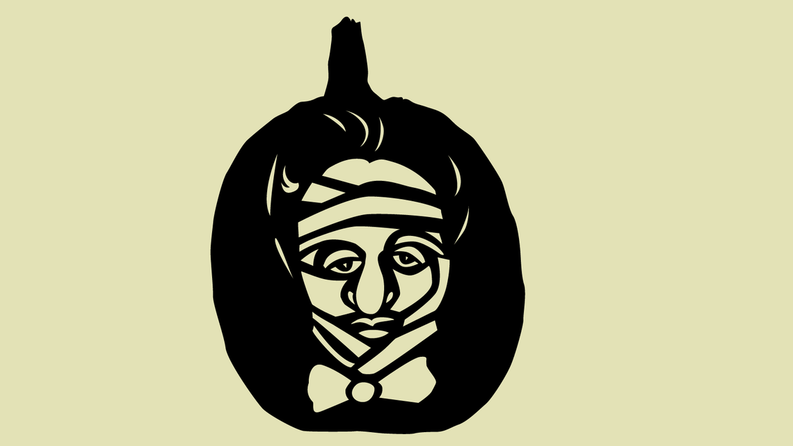 Illustration of Mummy Noether Pumpkin