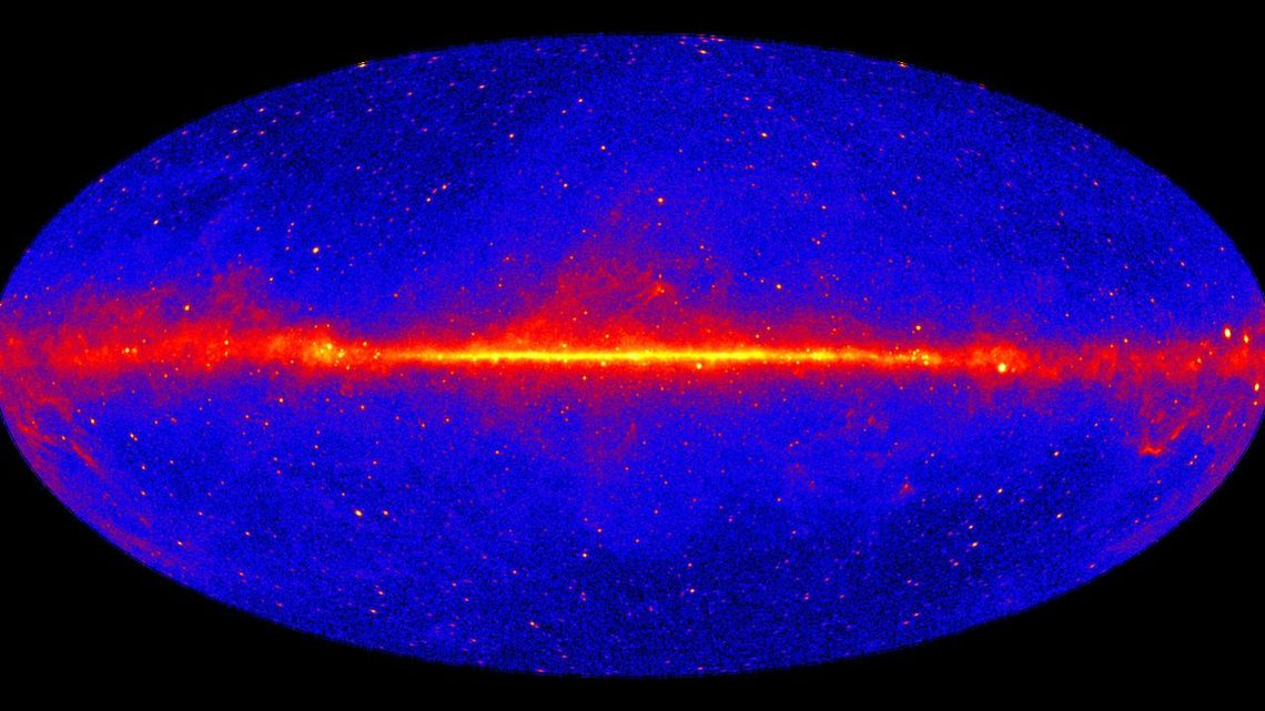 The sky in gamma rays with energies greater than 1 gigaelectronvolts
