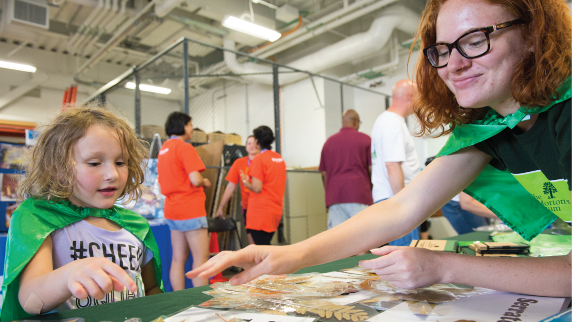 Dozens of Chicagoland STEM institutions brought knowledge, hands-on activities and goodies to the STEM fair.