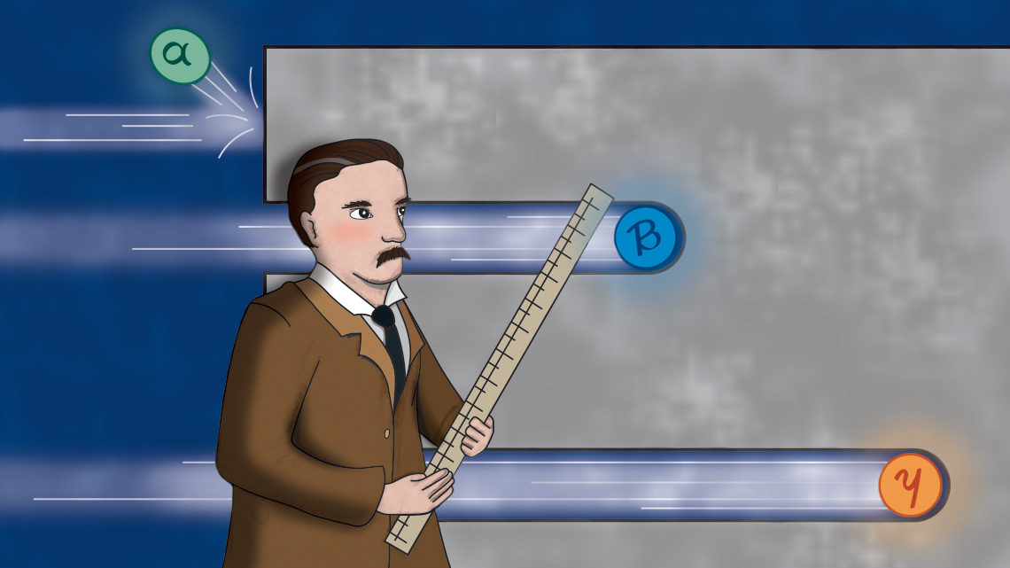 Ernest Rutherford explains gamma rays